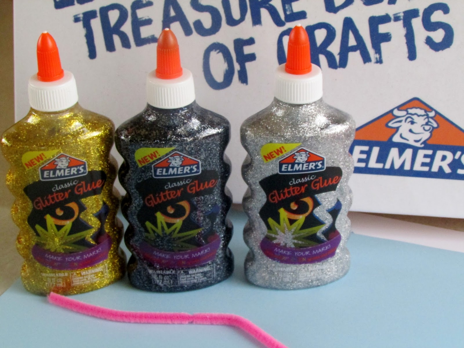 Heck Of A Bunch Make Sparkly Slime With Elmer S Glitter Glue