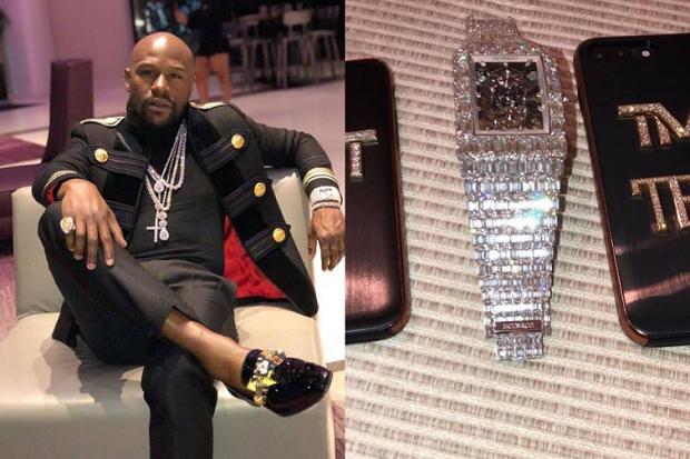 ◈ GOSSIP ◈: Le boxeur américain Floyd Mayweather s'offre une montre à...18 millions de Dollars!