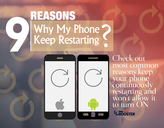 Why Does My Phone Keep Restarting And Wont Turn ON | Android, iOS