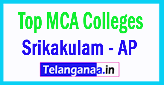 Top MCA Colleges in Srikakulam Andhra Pradesh