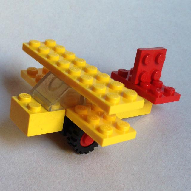 Lego 1606 - kétfedeles repülő