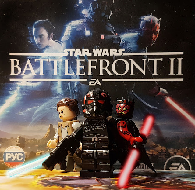 Star Wars Battlefront, lego, inferno, Iden Versio, Rey, Darth Maul