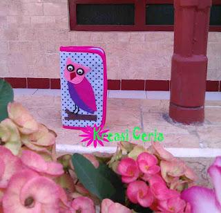 Tutorial Membuat Softcase Smartphone dari Kain Perca