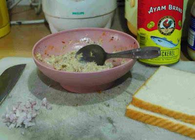 Gambar Resepi Sandwich Sardin