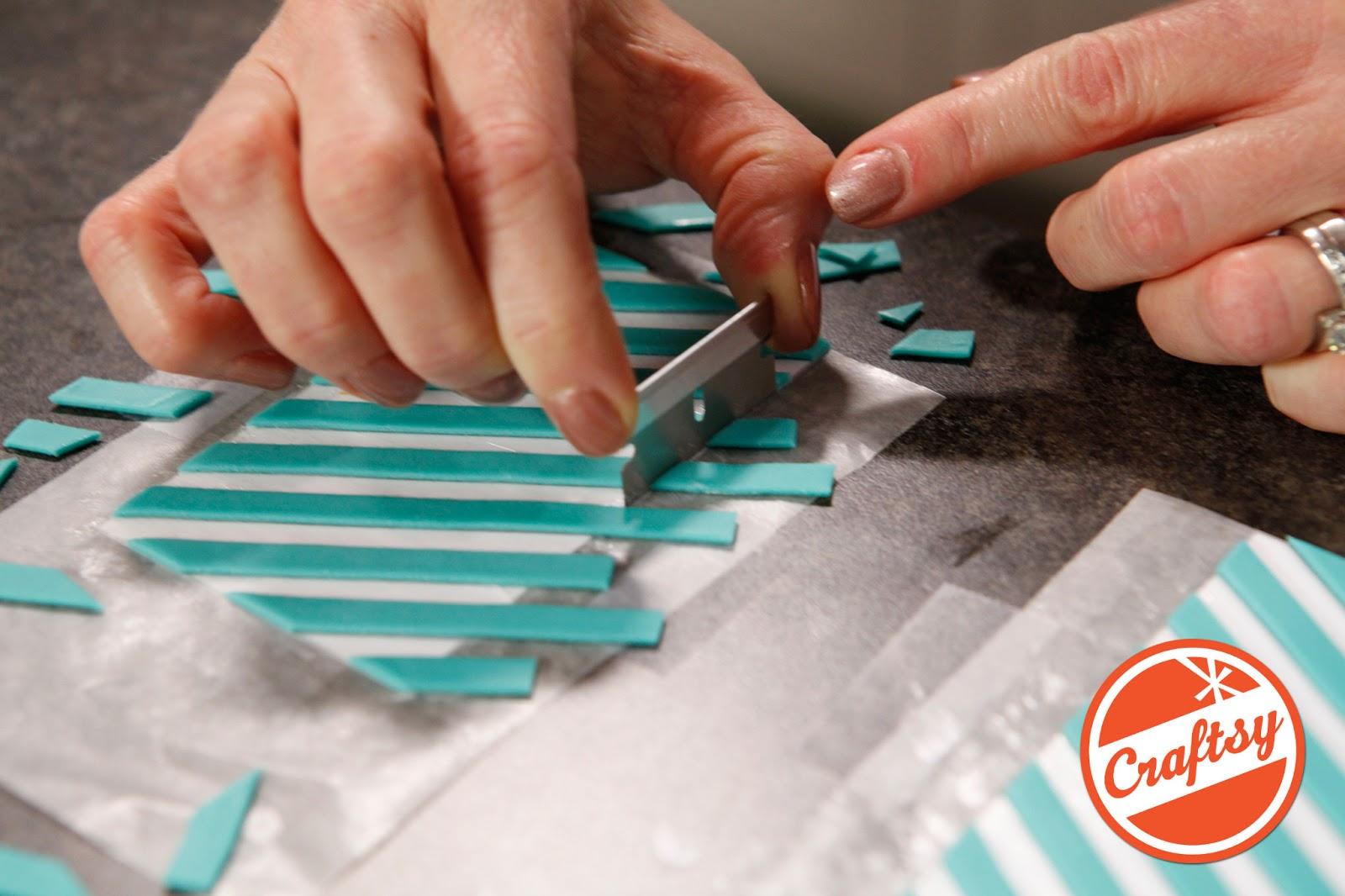 Craftsy Class Cake Design #1: The Offset Chevron Cake - Jessica ...