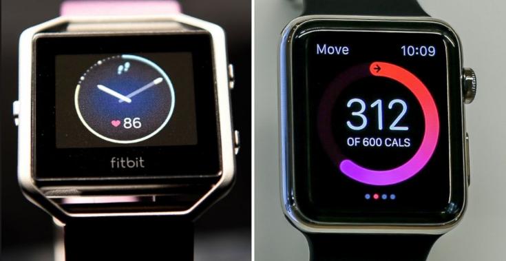 Apple watch or fitbit blaze