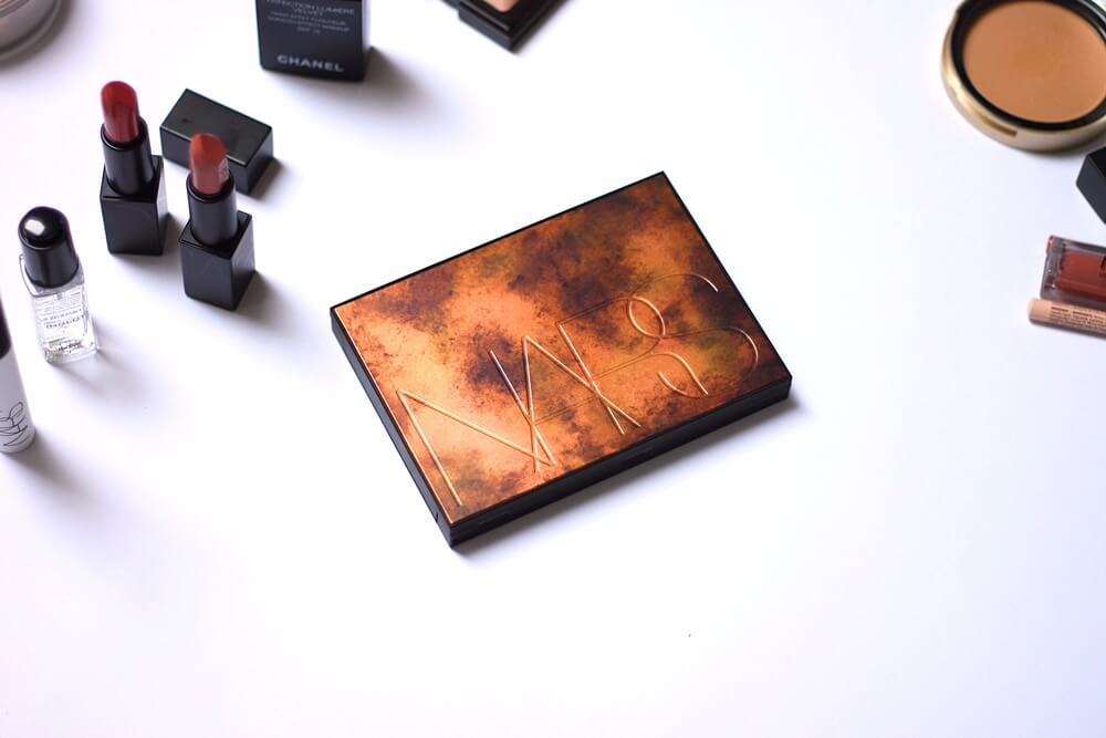 nars bord de plage highlighting and bronzing palette recenzija