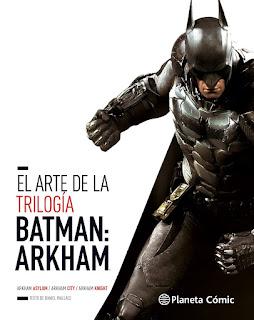 El arte de la Trilogía Batman: Akrham
