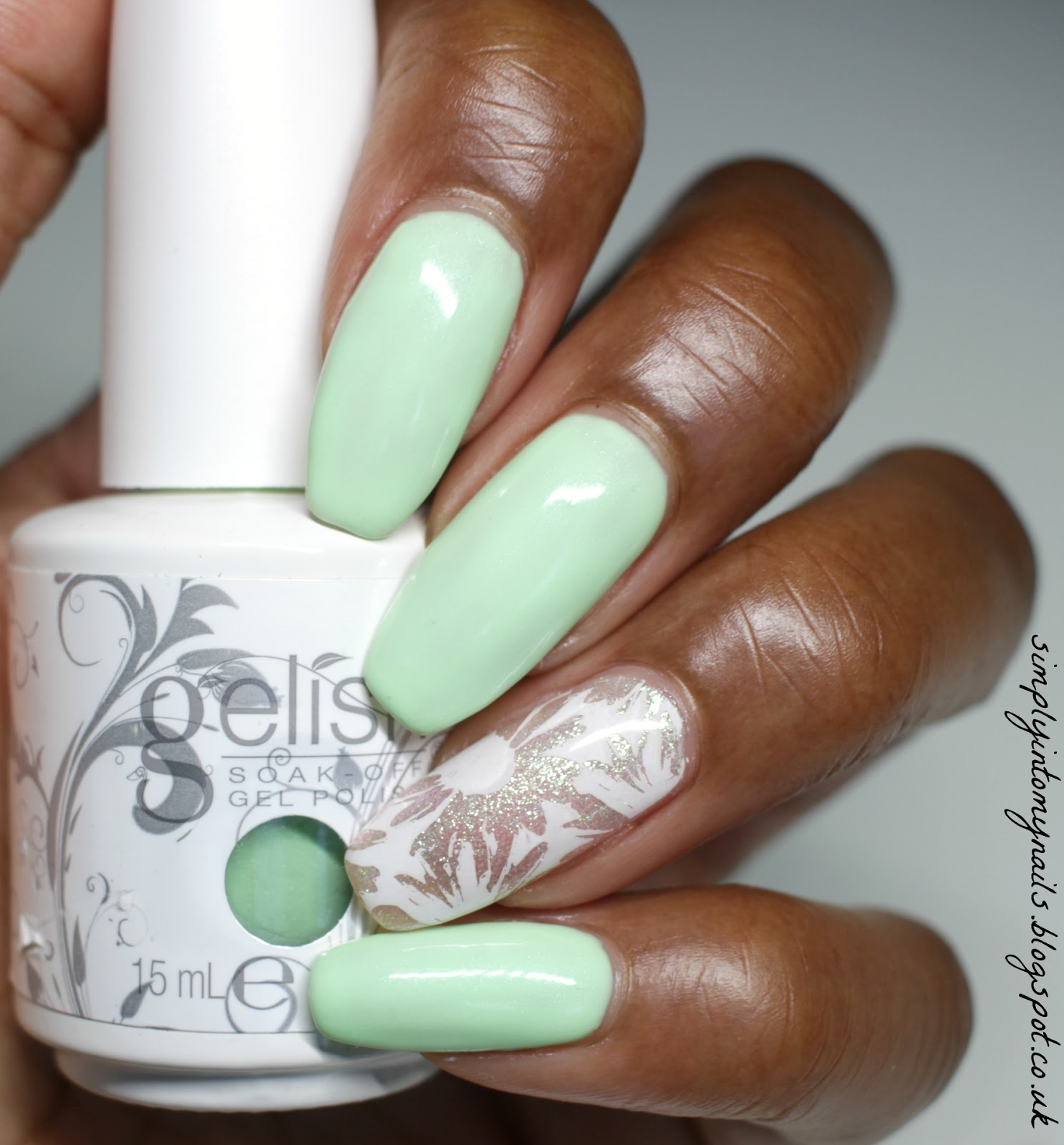 Gelish Do You Harajuku ~ Featuring Dixie Plate DP 02 | Simply Into ...