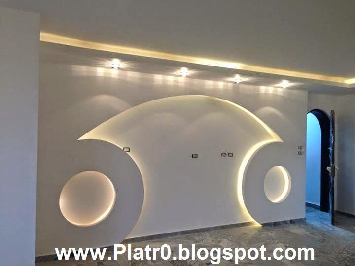 Best placoplatre for plasma tv d coration platre maroc faux plafond dalle arc platre - Decor platre pour cuisine ...