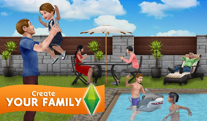 Download The Sims FreePlay MOD APK Terbaru