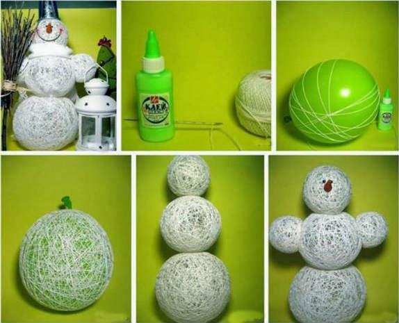 Creative And Simple Christmas Decoration Ideas: Ballon