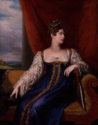Portrait of Princess Charlotte by George Dawe, 1817