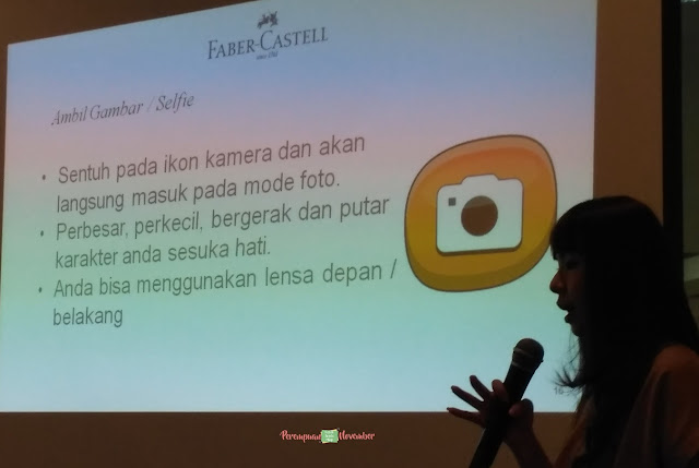 selfie dengan colour to life