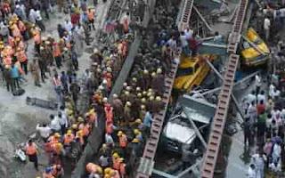 24 Dead Flyover collapsed in Kolkata - India