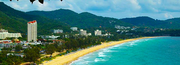 During daytime thousands endeavor to teach their suntan at Patong bestthaibeaches: Patong Beach
