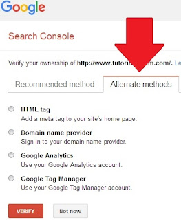Cara Mendaftar dan Menggunakan Google Webmaster Tools