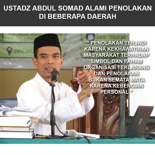 Kontroversi Ustadz Abdul Somad Alami Penolakan di Beberapa Daerah