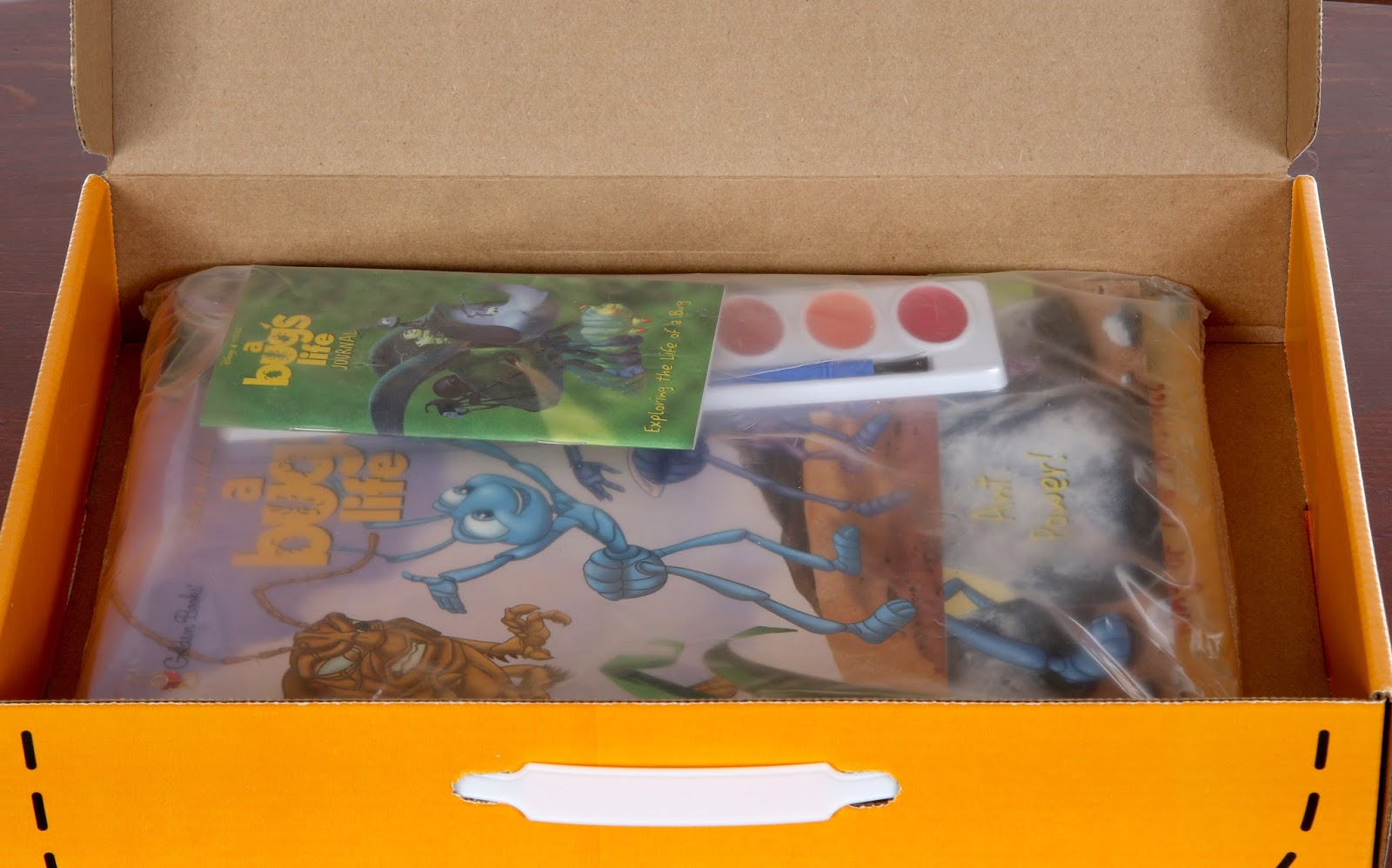 a bug's life golden go pack books