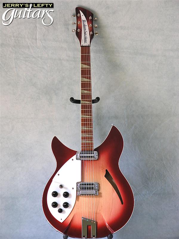 jerry 39 s lefty guitars newest guitar arrivals updated weekly rickenbacker 360v64 fireglow left. Black Bedroom Furniture Sets. Home Design Ideas