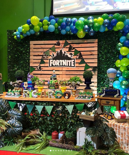 101 Fiestas 15 Ideas Para Una Fiesta Fortnite