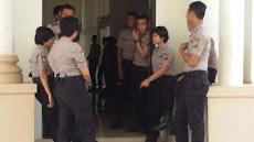 Antisipasi Kembali Ricuh, Paripurna DPRD Ogan Ilir Dijaga Dua Peleton Dalmas