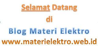 Blog Materi Elektro di www.materielektro.web.id
