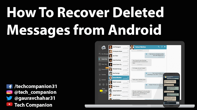 How To Recover Deleted Messages from Android