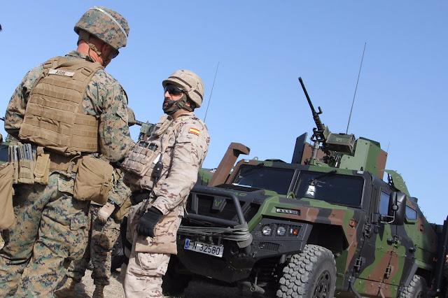 Finaliza el Ejercicio LISA AZUL-16 entre Infantes de Marina y marines americanos