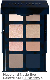Bobbi Brown Navy and Nude Eye Palette