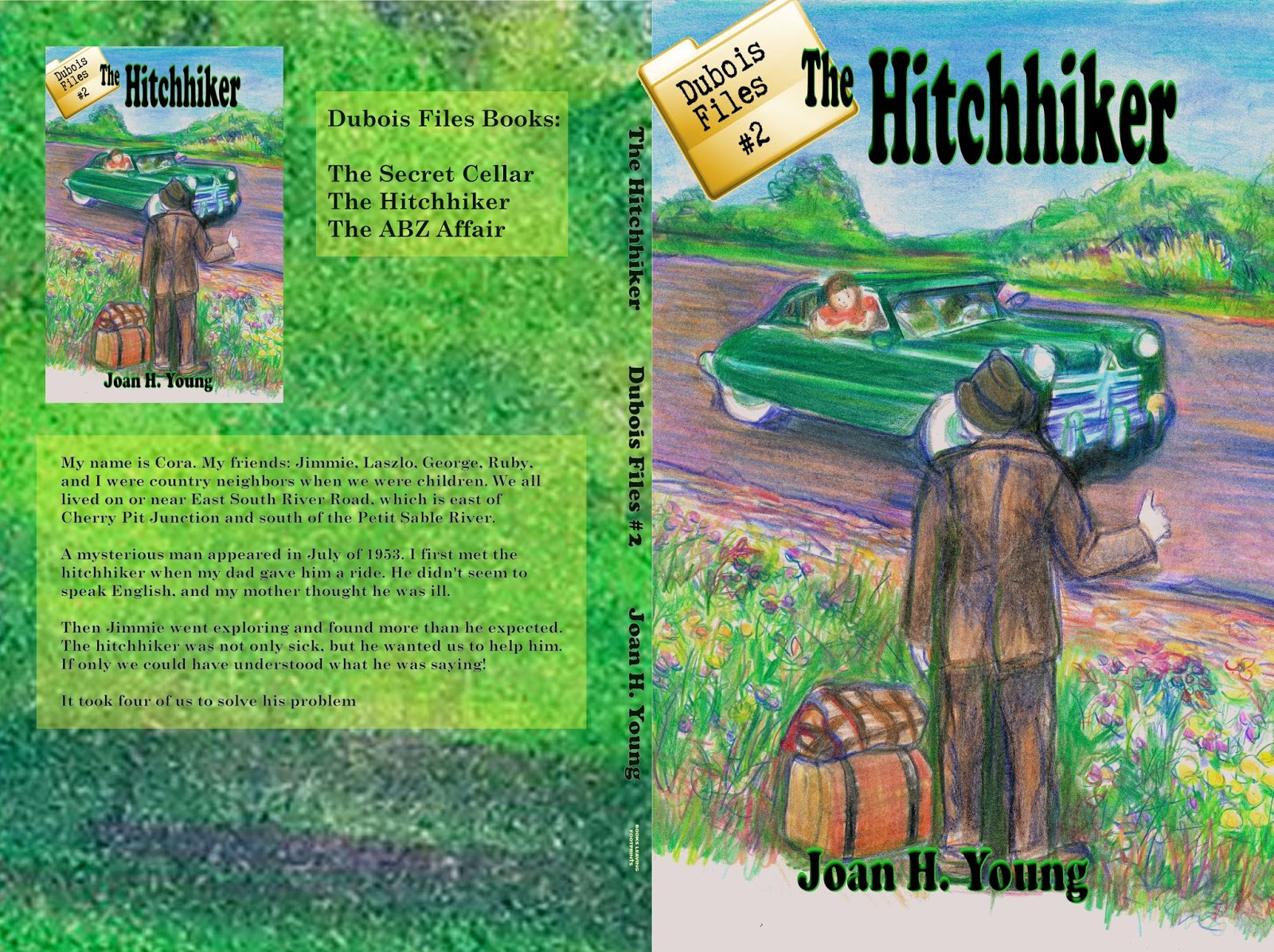 full cover for the paperback edition of The Hitchhiker