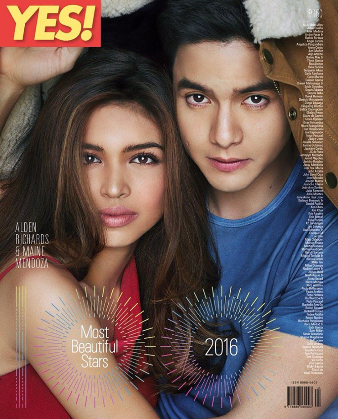 Yes! 100 Most Beautiful Stars 2016