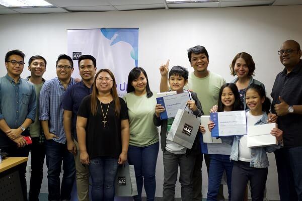 Grade School Students Win Power Mac Center App Contest