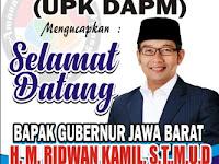 Download Contoh Spanduk Selamat Datang Gubernur Format CDR