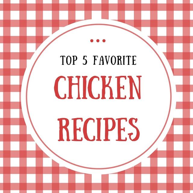Топ-5 улюблених рецептів з курки
