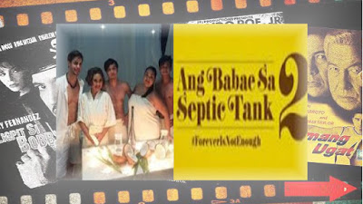 Eugene reunited with the likes of Kean Cipriano and Cai Cortez for the Ang Babae sa Septic Tank 2.