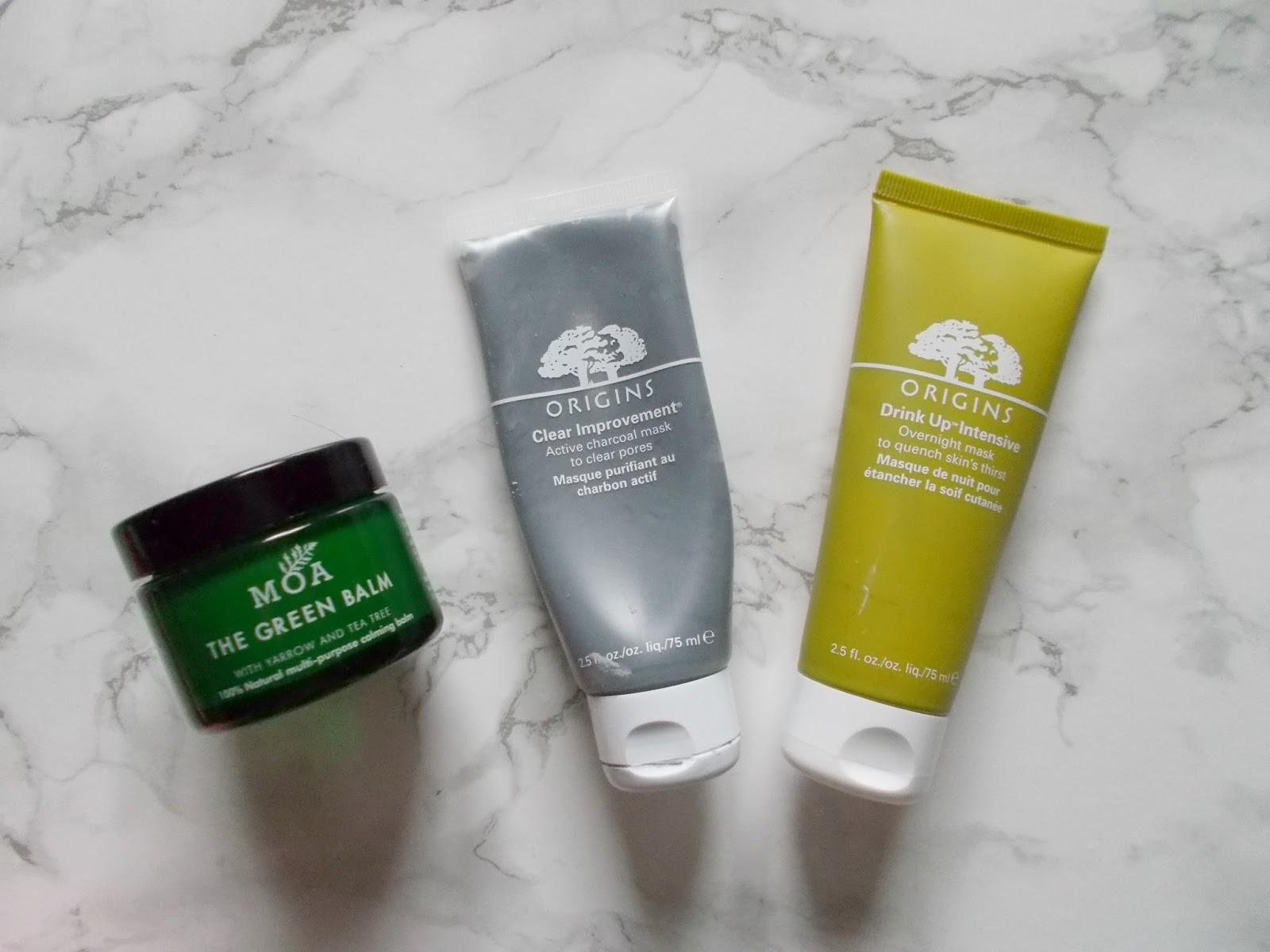 skincare pamper moa magic organic apothecary green balm origins mask
