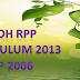 Contoh RPP Kurikulum 2013 dan KTSP (SD,SMP,SMA)