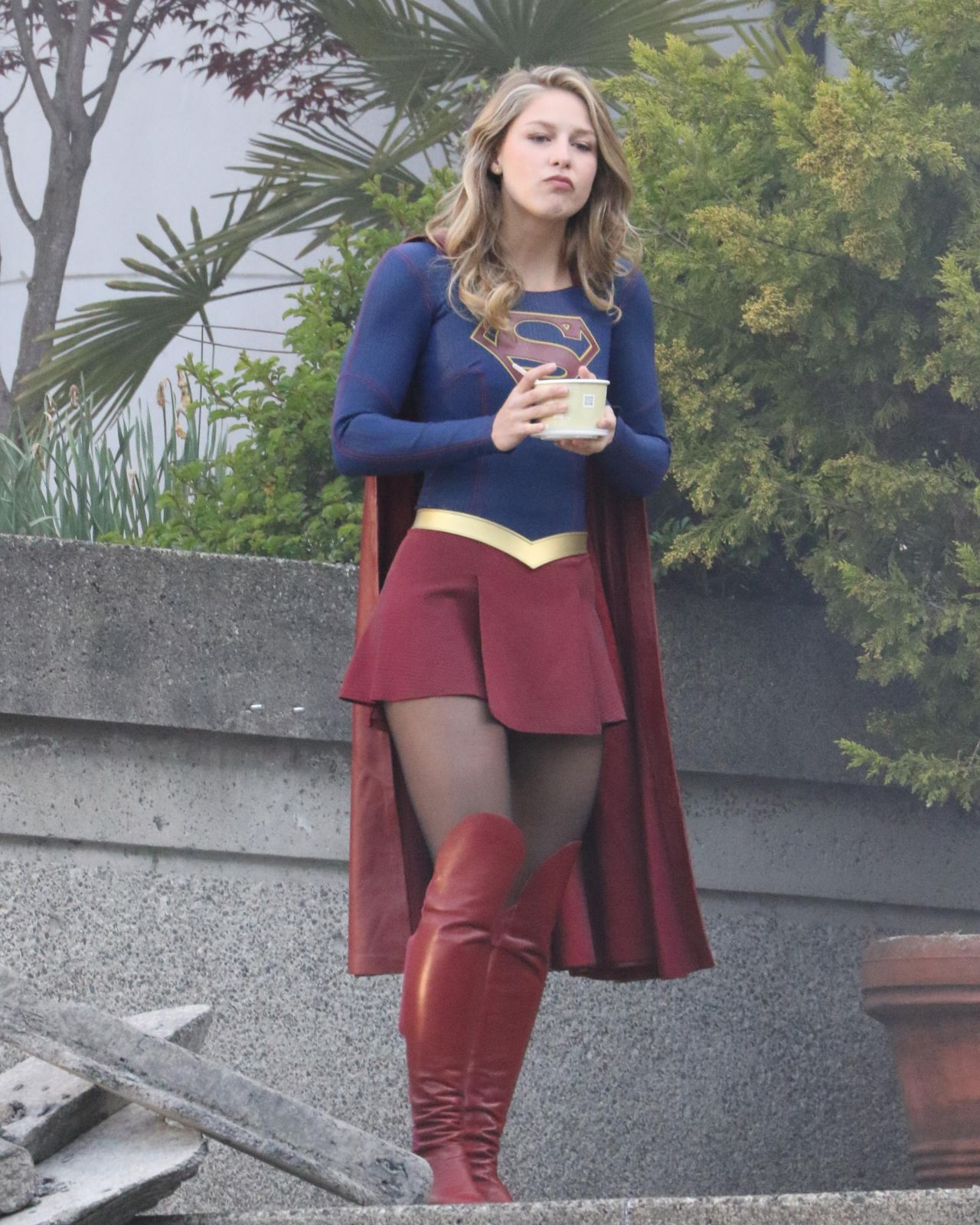 "Finale Of ""Supergirl"" Filming In"