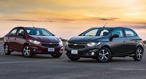 Chevrolet Onix y Prisma 2017