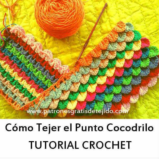 patron-punto-cocodrilo-crochet