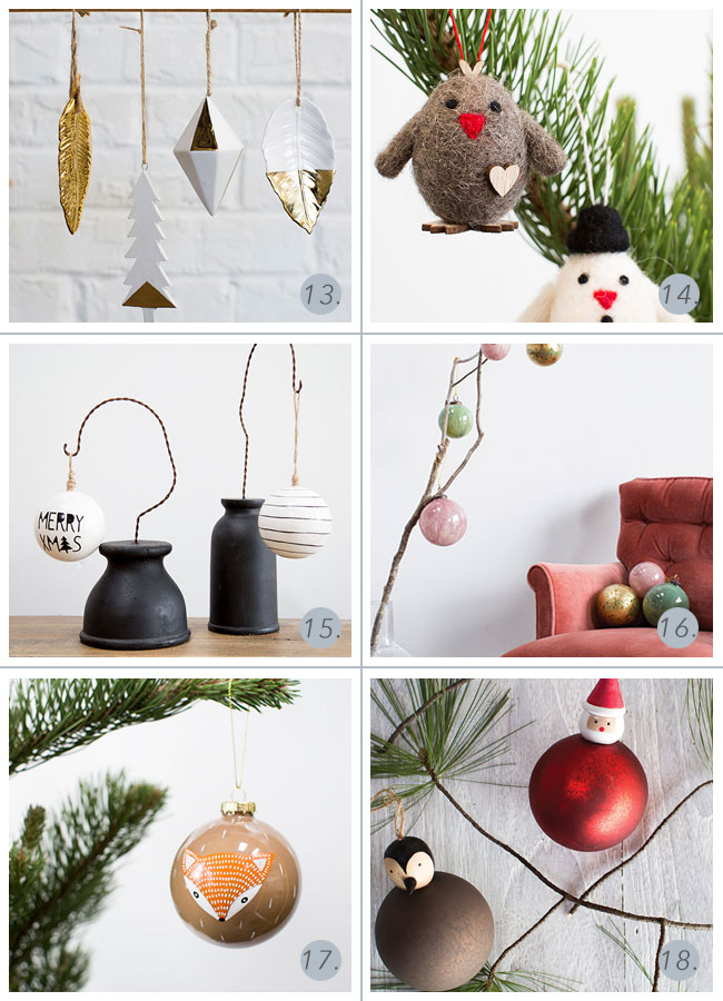 wholesale Christmas tree ornaments from Accent Decor