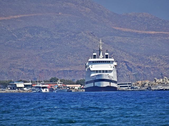 port Kissamos statki droga na Balos