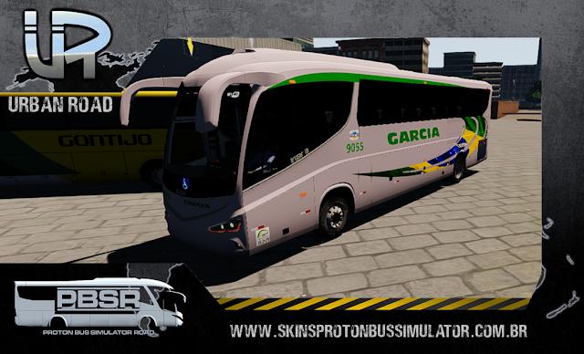 Skin Proton Bus Simulator Road - Irizar I8 Volvo B410R Viação Garcia