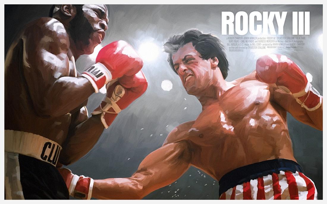 Sylvester Stallone as Rocky 3
