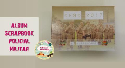 Album Scrapbook Policial Militar