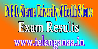 Pt.B.D. Sharma University of Health Science-MDS Final Year Annual May 2016 Exam Results