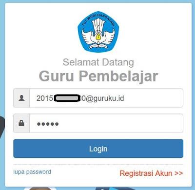 user dan password simpkb