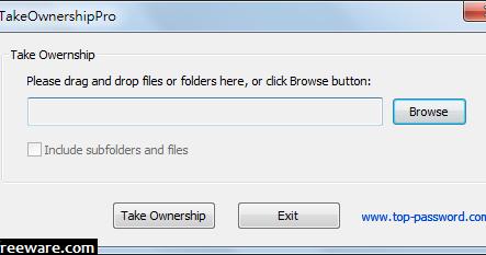 TakeOwnershipPro 1.6 免安裝版 - 取得Windows檔案及資料夾存取權 - 阿榮福利味 - 免費軟體下載