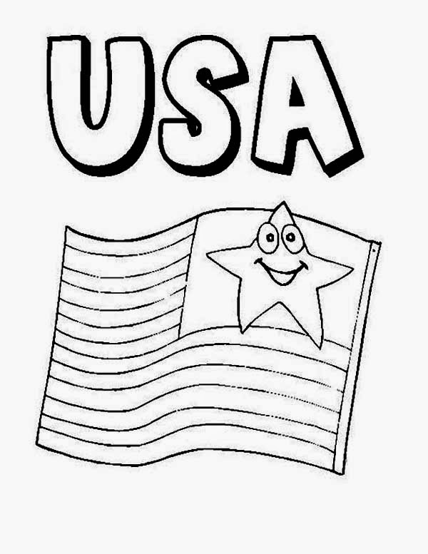 ImagesList.com: Independence Day Usa for Coloring, part 1